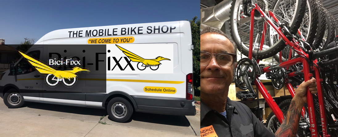 Bici-Fixx Sells Bicycles in Albuquerque,NM