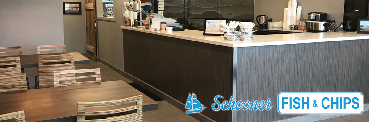 Schooner Fish & Chips is a Gluten Free Restaurant in Oshawa, ON
