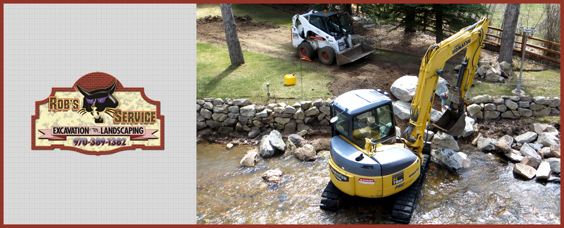 Rob's Cat Service, LLC	 Performs Erosion Control and Excavation in Conifer, CO