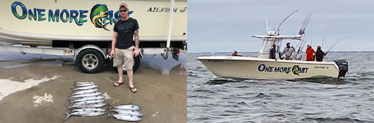 OMC Fishing Adventures provides Fishing Services in Sneads Ferry, NC